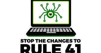 อย่ายอมให้รัฐบาลสหรัฐอเมริกาแฮกคอมพิวเตอร์ของเรา – หยุดการเปลี่ยนแปลงกฎ 41