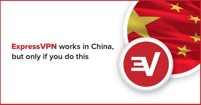 expressvpn works in china