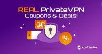 คูปอง PrivateVPN: ประหยัดเงิน 83% ด้วยรหัสที่ซ่อนอยู่ของปี 2021!