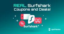 คูปอง Surfshark 2021: ประหยัด 85% พร้อมส่วนลดสุดพิเศษนี้!
